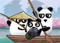 3 Pandas in Japan segíts hazajutni a maciknak
