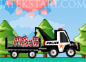 911 Police Truck Játékok