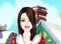 Barbie Christmas Dress Up öltöztesd fel