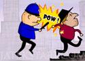 Cops and Robbers fuss és kapd el a rablókat a játékban