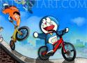 Doraemon Racing nyerd meg a bringaversenyt a játékban