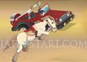 Egyptian Horse ugrass a lóval