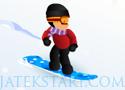 Freestyle Snowboarding csússz le a sráccal