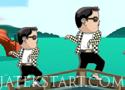 Gentleman Ta Ta Ta egyensúlyozós játék PSY a főszerepben