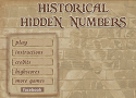 Historical Hidden Numbers