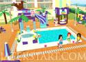 Lego Friends Pool Party buli szervezős játékok