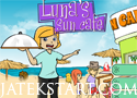 Luna Sun Cafe szolgáld ki a kávézó vendégeit.