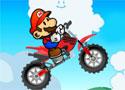 Mario Acrobatic Bike motoros ügyességi játékok