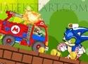 Mario Truck Zombie Shot Játék