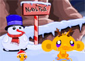 Monkey Go Happy North Pole vidítsd fel a majmokat