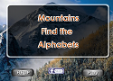 Mountain - Find the Alphabets