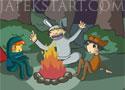 Pajama Boy 2 The Dark Forest pizsamás fiú az erdőben