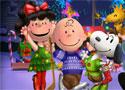 Peanuts Team Christmas öltöztetős játék