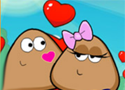 Pou Love Story szerelmi történet