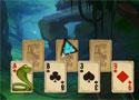 Rainforest Solitaire egyszerűsített pasziánsz játék