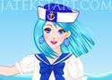 Sailor Girl Dress Up lányos öltöztetős