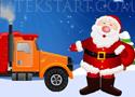 Santa Truck Parking parkolj le a Mikulás kamionjával