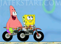 Spongebob Friendly Race motorverseny Spongya Bobbal