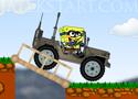 Spongebob Dangerous Jeep Játék
