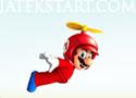 Super Flying Mario szedd össze az érméket Márióval