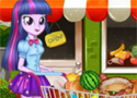 Twilight Sparkle Christmas Shopping Játékok