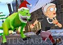 Angry Gran Run Christmas Village futós játékok a nagyival