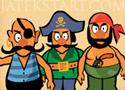 Awesome Pirates védd meg a várat a kalózoktól
