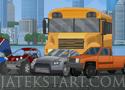 Blast Driver egy autó dinamittal tele