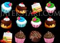 Cake Crunch édességes párosítós játékok