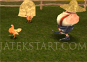 Chicken Run 3D futós csirkés játékok