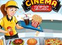Cinema Panic szolgáld ki a vendégeket a moziban