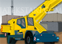 Container Crane Parking konténer pakolós autós játék