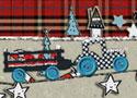 Cotton Flakes Tractor traktoros szállítós játék