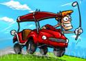 Crazy Golf Cart 2 autós ügyességi játék