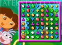 Dora Bejeweled zuhatag Játékok
