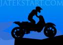 Drift Crosser juss túl a pályákon a motorral