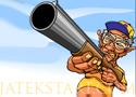 Grampa Grumble Skeet Shoot lövöldözős vadászos játék