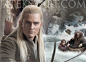 The Hobbit Barrel Escape menekülés a Gyűrűk Ura szereplőivel