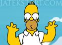 Homer Simpsons Great Adventure fánkszedős játékok