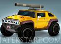 Hummer Rocket Launch autós ügyességi játékok