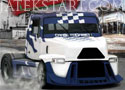 Industrial Truck Racing felülnézetes kamionverseny