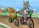 Jerrys Bmx Rush biciklis verseny a két mesehőssel
