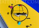 Kill Stickmen Beach tengerparton pálcikaemberekre lövöldözős játék