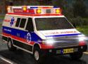 Medical Van 3D Parking mentőautós játékok