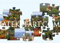 Mill Bluff State Park Jigsaw Játékok