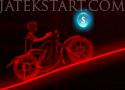 Neon Racer menj végig a motorral