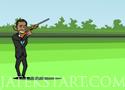 Obama Skeet Shooting lőj az elnökkel