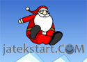Slingshot Santa játék