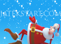 Santas Candy karácsonyi buboréklövős játék cukorkákkal