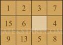 Sliding Puzzle számkirakó játék